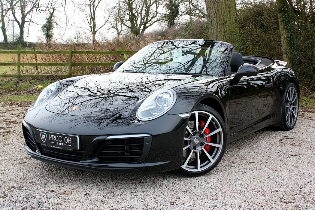 all Porsche 911 3.0 991 Carrera S Cabriolet PDK 2dr in wessington-derbyshire