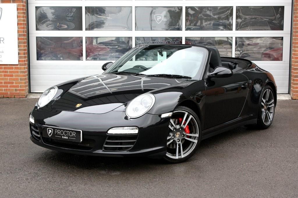 all Porsche 911 3.8 997 Carrera 4S Cabriolet PDK 2dr in wessington-derbyshire