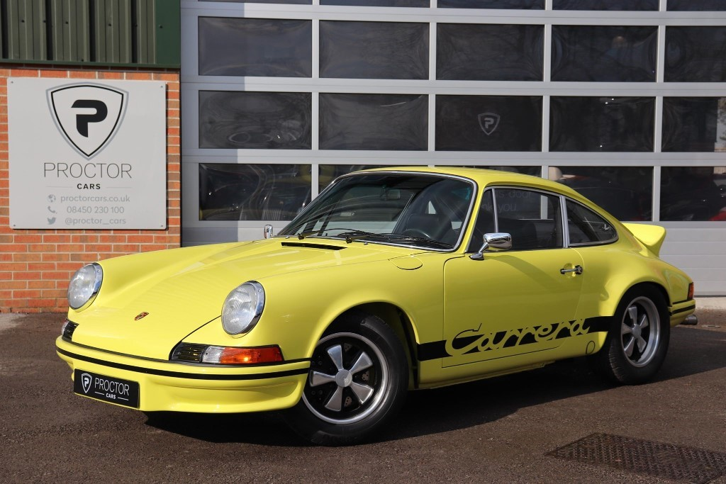 all Porsche 911 2.7 RS Touring LHD in wessington-derbyshire