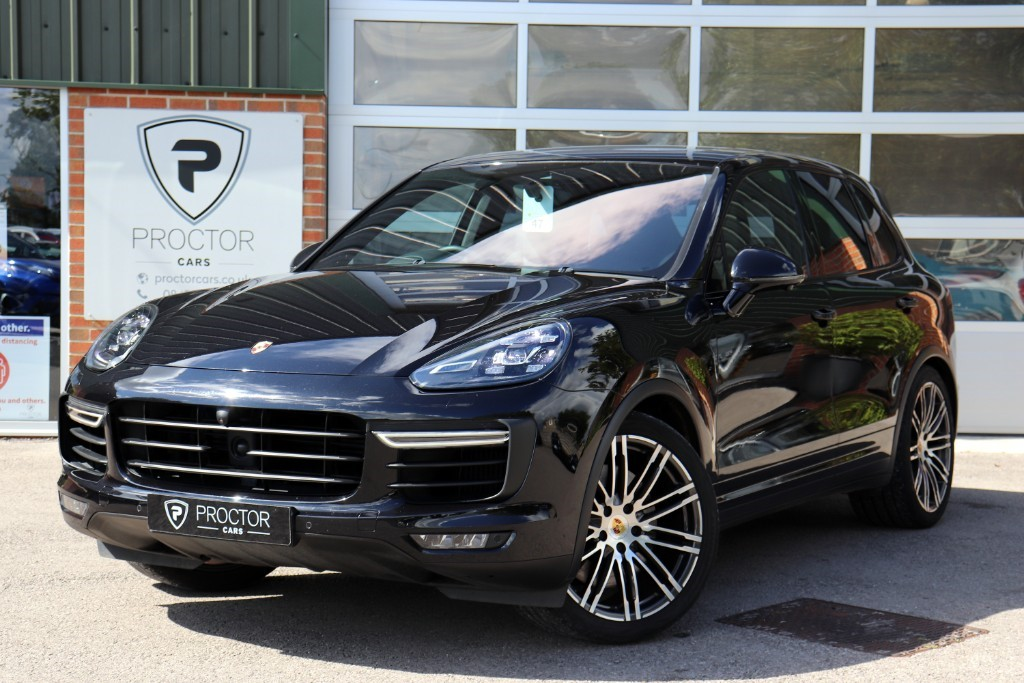all Porsche Cayenne 4.8T Turbo Tiptronic 4WD (s/s) 5dr in wessington-derbyshire