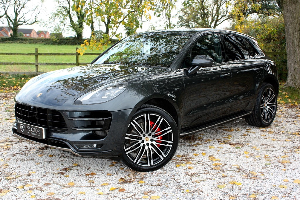 all Porsche Macan 3.6 Turbo PDK AWD (s/s) 5dr in wessington-derbyshire