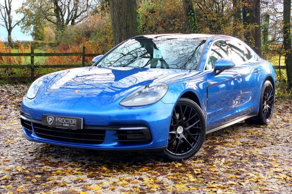 all Porsche Panamera 4.0 TD V8 4S PDK 4WD (s/s) 4dr in wessington-derbyshire