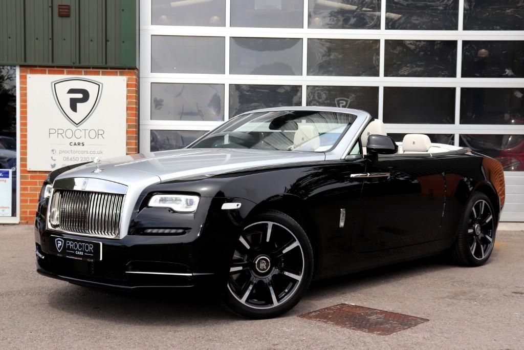 all Rolls-Royce Dawn 6.6 V12 Auto 2dr (4 seat) in wessington-derbyshire