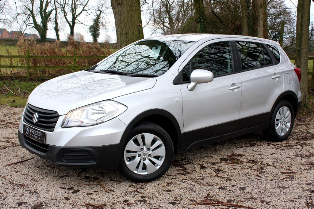 all Suzuki  SX4 S-Cross 1.6 SZ3 5dr in wessington-derbyshire