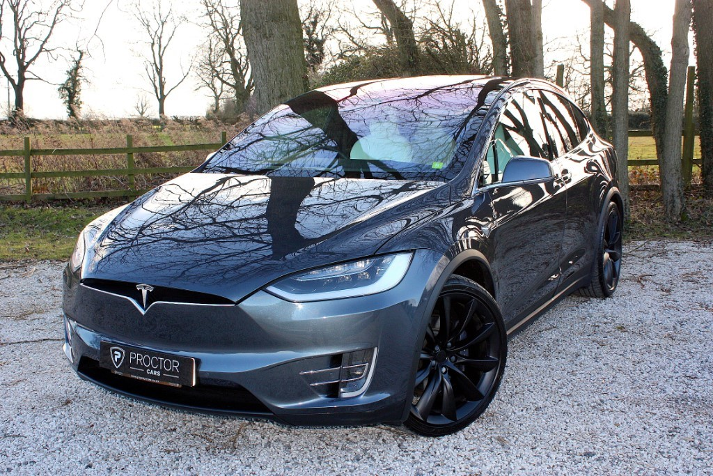 all Tesla Model X E 75D (245kw) SUV AWD 5dr in wessington-derbyshire