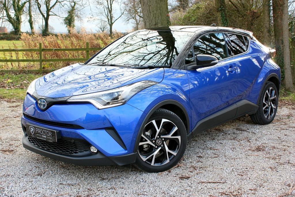 all Toyota C-HR 1.8 Dynamic CVT 5dr in wessington-derbyshire