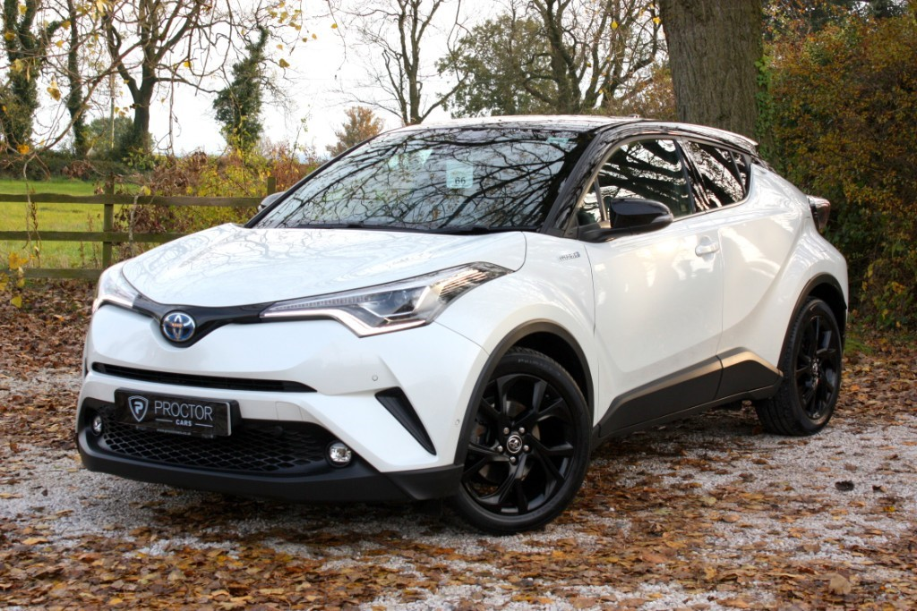 all Toyota C-HR ** SOLD DELIVERING TO SCUNTHORPE ** in wessington-derbyshire
