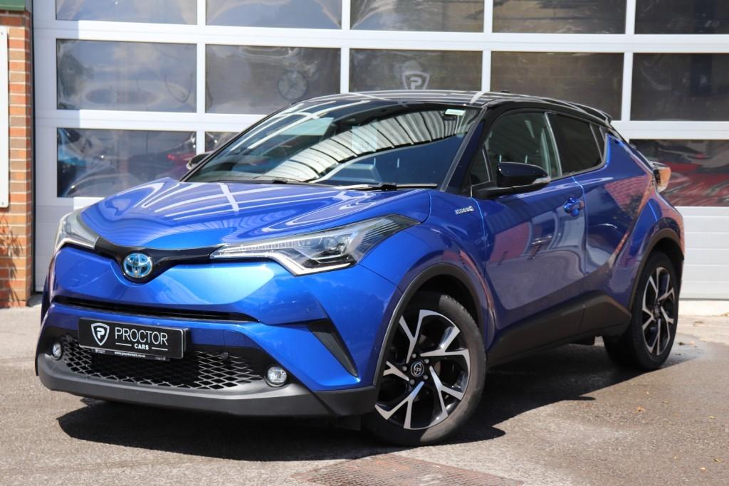 all Toyota C-HR 1.8 VVT-h Dynamic CVT (s/s) 5dr in wessington-derbyshire