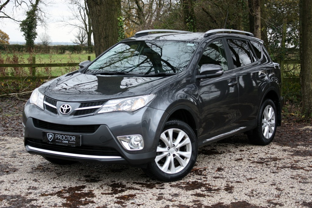 all Toyota RAV4 ** SOLD DELIVERING TO HIGH OFFLEY ** in wessington-derbyshire