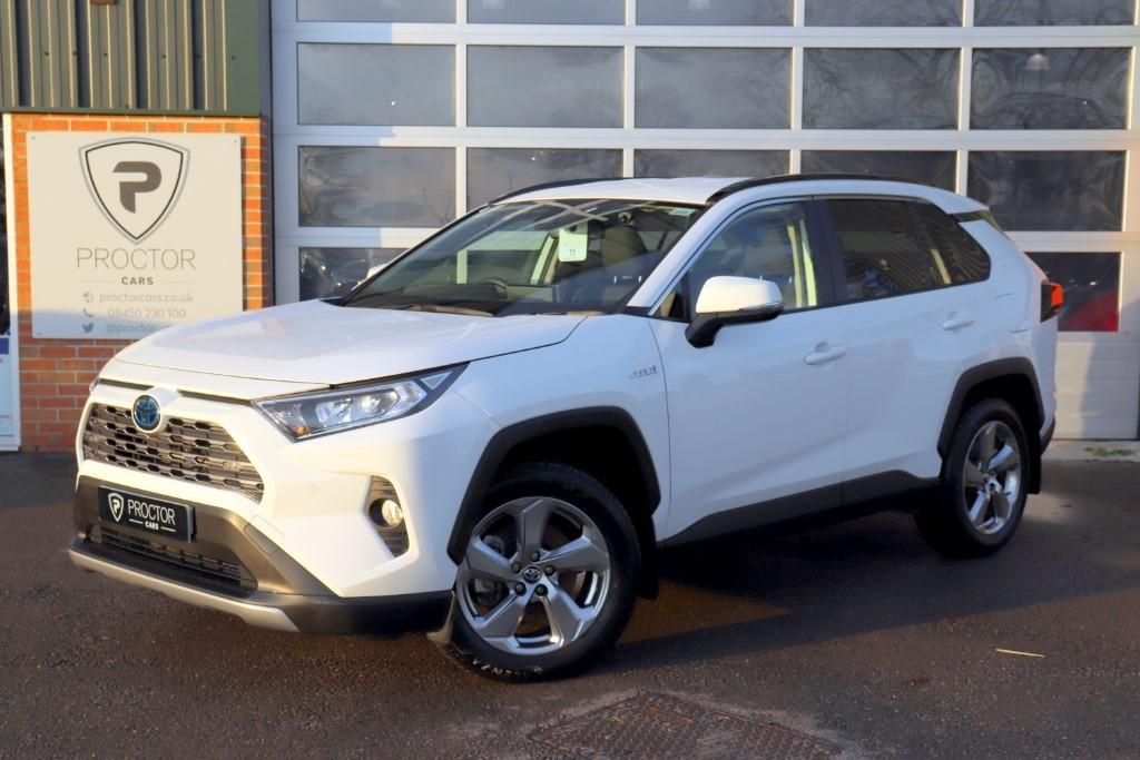 all Toyota RAV4 2.5 VVT-h Design CVT 4WD (s/s) 5dr in wessington-derbyshire