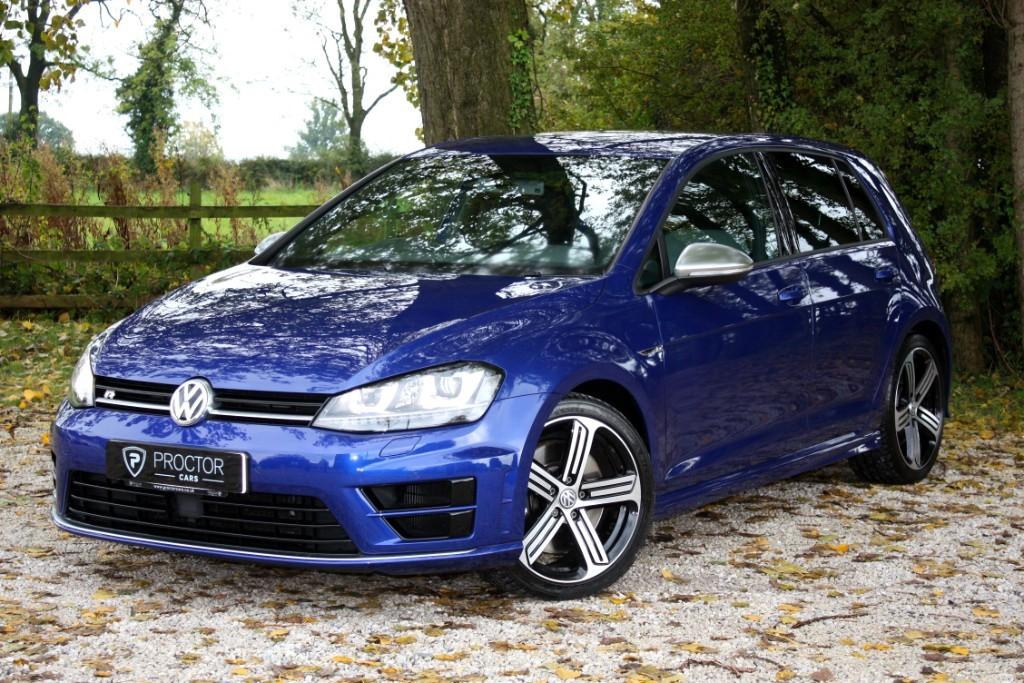 all VW Golf 2.0 TSI BlueMotion Tech R DSG 4MOTION (s/s) 5dr in wessington-derbyshire