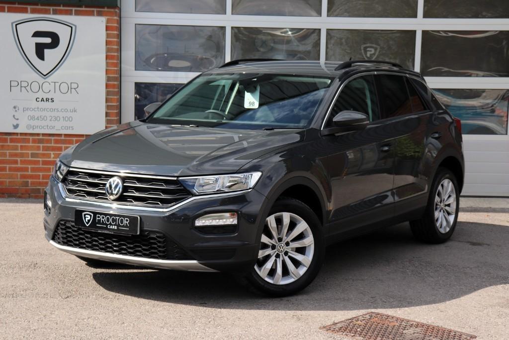 all VW T-Roc 1.5 TSI EVO SE (s/s) 5dr in wessington-derbyshire