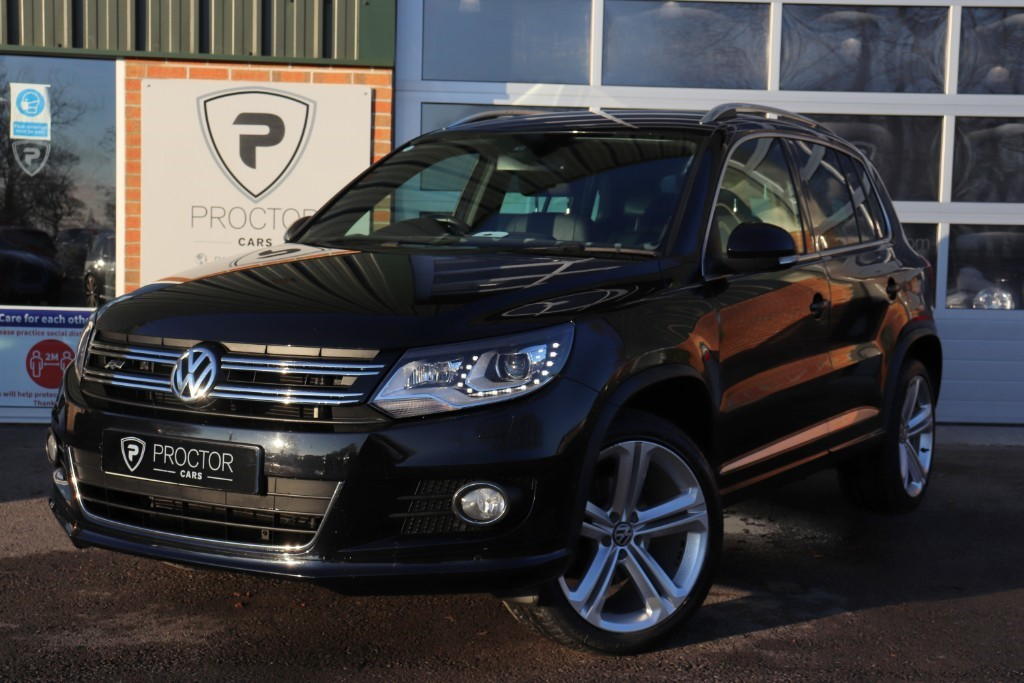all VW Tiguan ** SOLD DELIVERING TO GLOSSOP ** in wessington-derbyshire