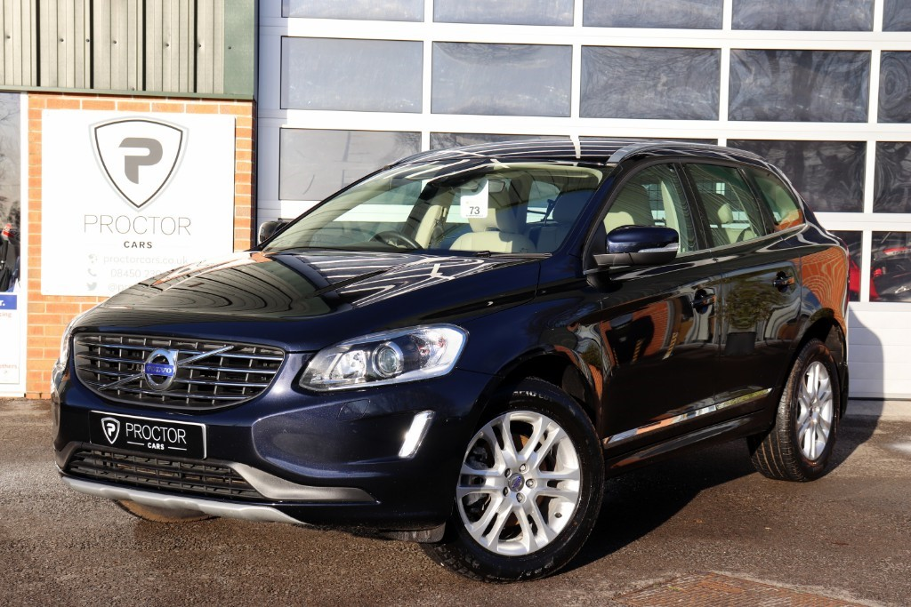 all Volvo XC60 2.4 D4 SE Lux Nav Geartronic AWD (s/s) 5dr in wessington-derbyshire