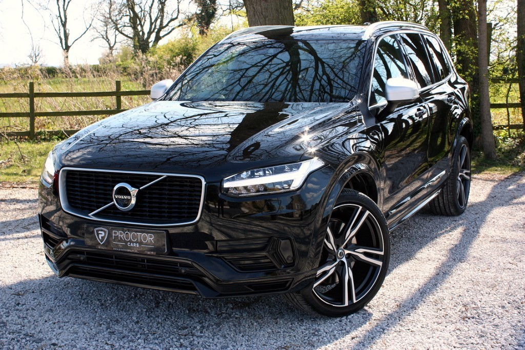all Volvo XC90 2.0 T8 R-Design Pro AWD (s/s) 5dr in wessington-derbyshire