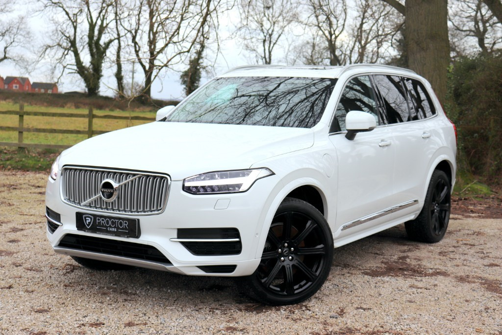 all Volvo XC90 2.0h T8 Twin Engine 9.2kWh Inscription Auto 4WD (s/s) 5dr in wessington-derbyshire