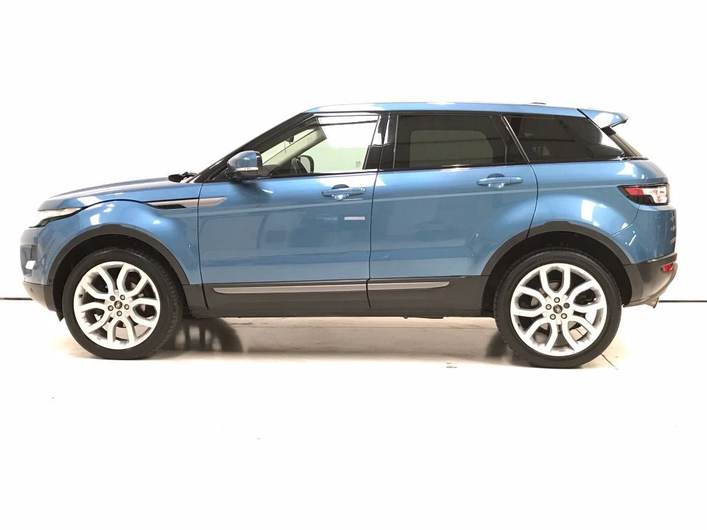 Used Mauritius Blue Land Rover Range Evoque For Sale Derbyshire 4 6 Engine