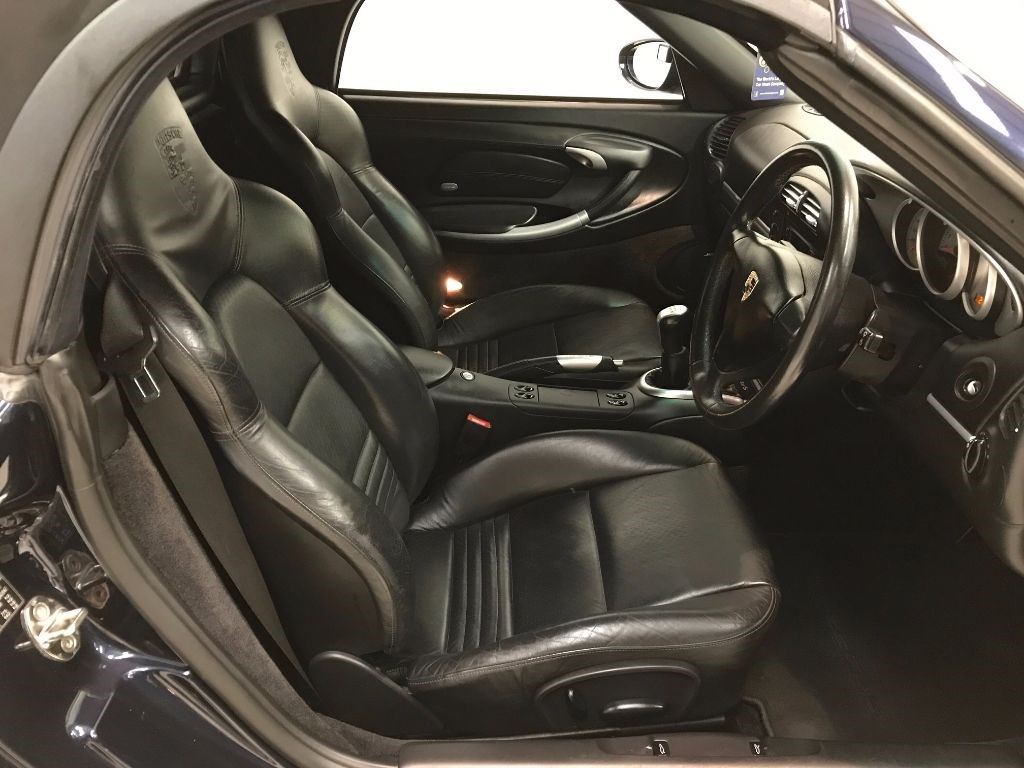Used Midnight Blue Porsche Boxster For Sale Derbyshire
