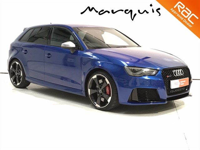 used Audi A3 RS3 SPORTBACK QUATTRO NAV in derbyshire