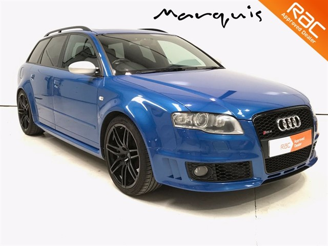 used Audi A4 RS4 QUATTRO Sport Seats Sunroof BOSE FSH Cherished Example in derbyshire
