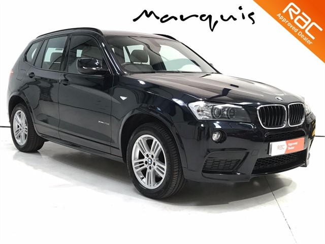 used BMW X3 20d M Sport xDrive 5dr in derbyshire
