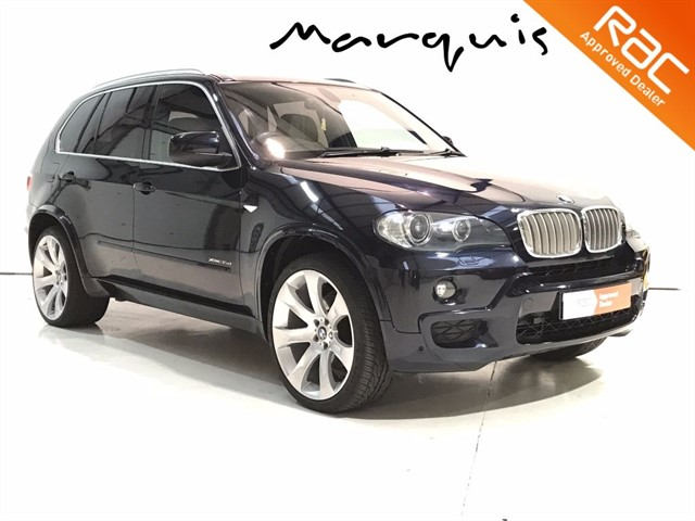 used BMW X5 XDRIVE35D M SPORT in derbyshire