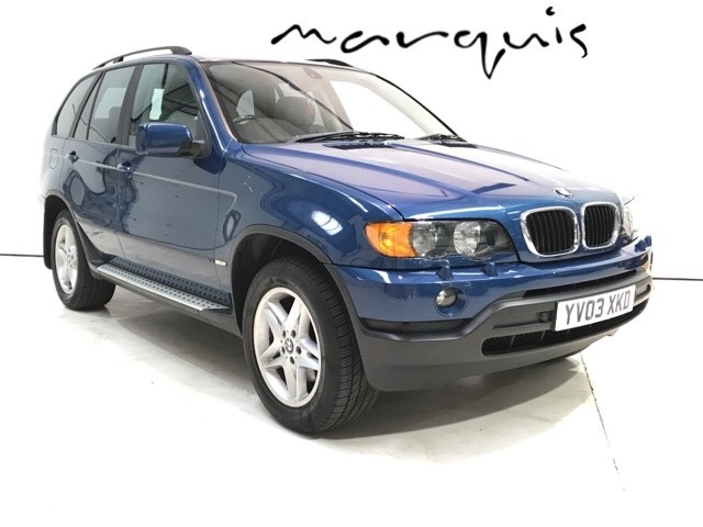 used BMW X5 D in derbyshire