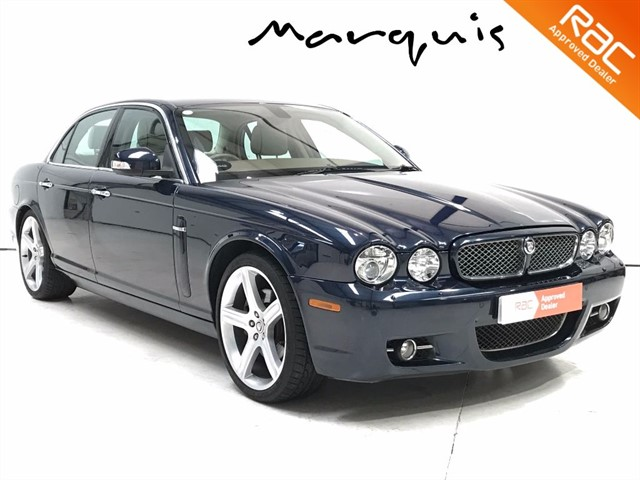 used Jaguar XJ TDVI V6 SOVEREIGN Collectors Example DAB FJSH in derbyshire