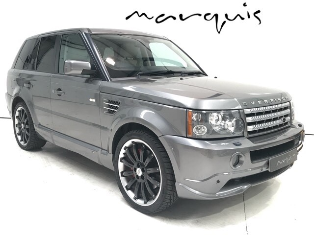 used Land Rover Range Rover Sport V8 S/C HSE OVERFINCH in derbyshire