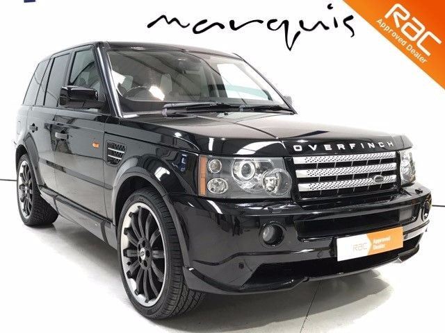 used Land Rover Range Rover Sport TDV8 SPORT HSE OVERFINCH 22 Inch ALLOYS LOW MILES in derbyshire