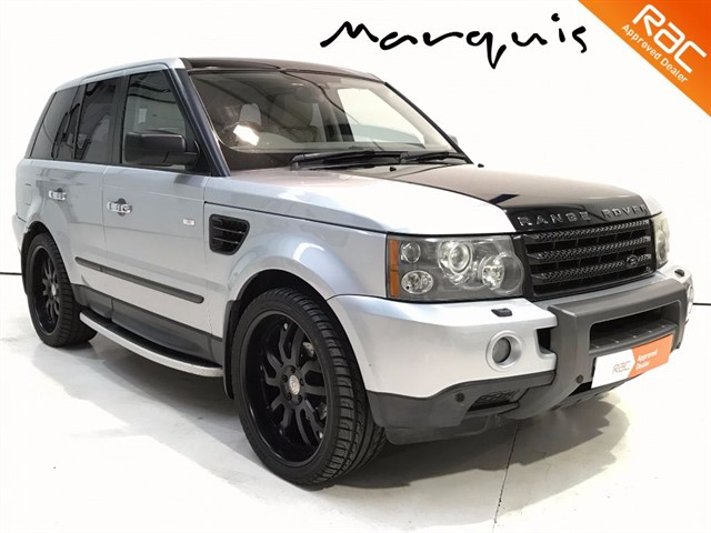 """used Land Rover Range Rover Sport TDV6 HSE 22"""" Alloys FSH Cambelts Changed in derbyshire"""
