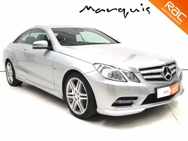 used Mercedes E220 CDI BLUEEFFICIENCY SPORT in derbyshire