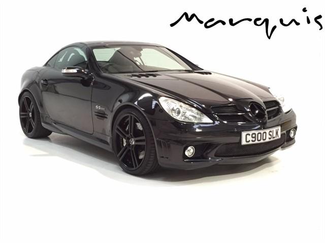 used Mercedes SLK SLK55 AMG in derbyshire