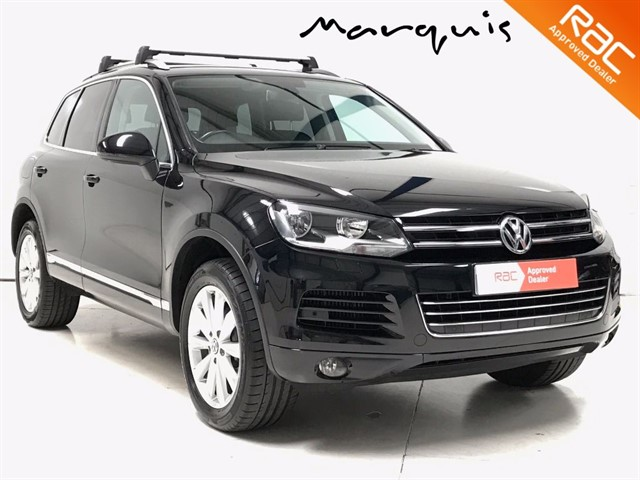 used VW Touareg V6 SE TDI BLUEMOTION TECHNOLOGY 1 Owner FVWSH in derbyshire