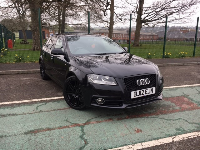 used Audi A3 SPORTBACK TDI S LINE in llanelli-south-wales
