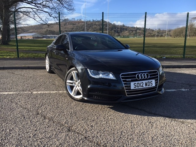 used Audi A7 TDI QUATTRO S LINE in llanelli-south-wales