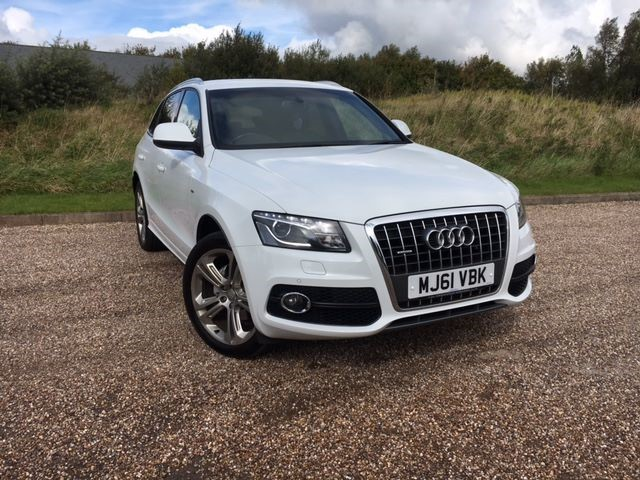 used Audi Q5 TDI QUATTRO S LINE SPECIAL EDITION in llanelli-south-wales