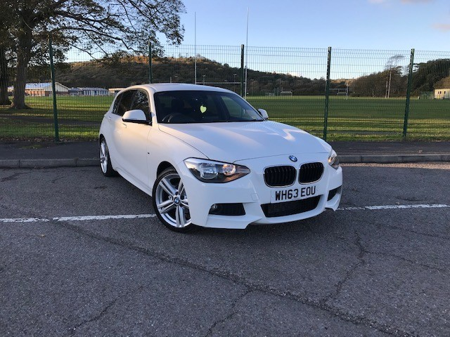 used BMW 116d M SPORT in llanelli-south-wales