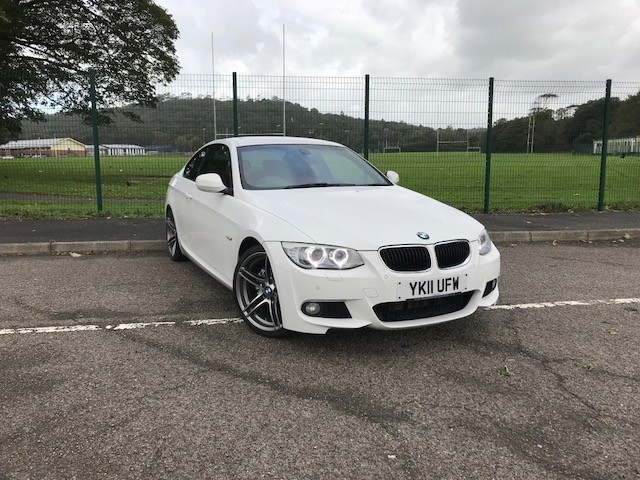 used BMW 320d M SPORT in llanelli-south-wales