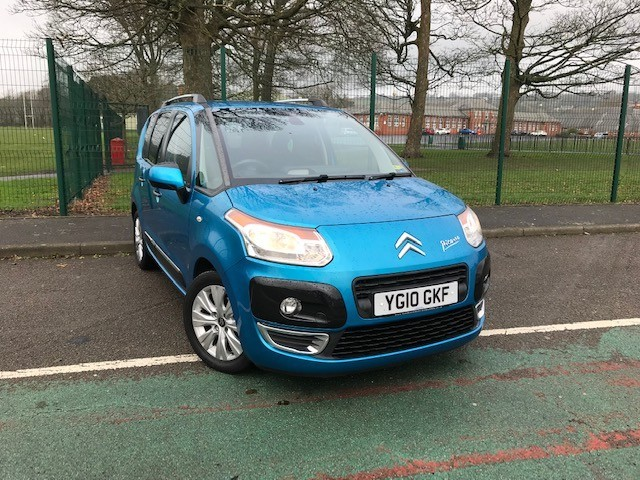 used Citroen C3 HDI EXCLUSIVE PICASSO in llanelli-south-wales