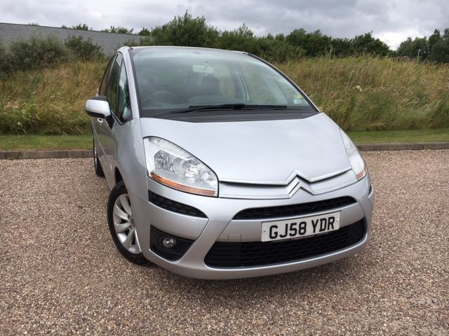 used Citroen C4 Picasso VTR PLUS HDI 5STR EGS in llanelli-south-wales