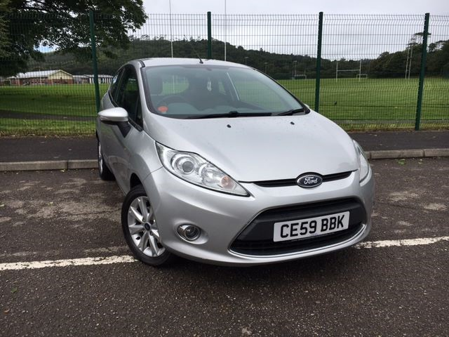 used Ford Fiesta ZETEC in llanelli-south-wales