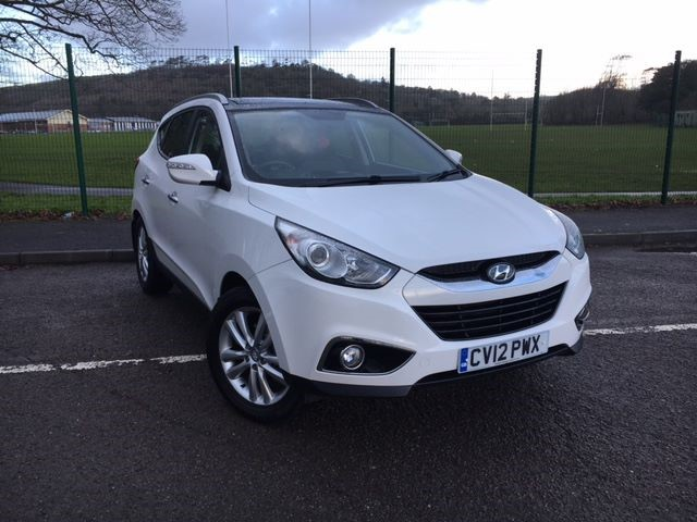 used Hyundai ix35 PREMIUM CRDI 4WD in llanelli-south-wales