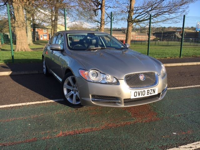 used Jaguar XF V6 LUXURY in llanelli-south-wales