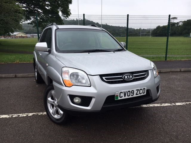 used Kia Sportage TITAN CRDI in llanelli-south-wales