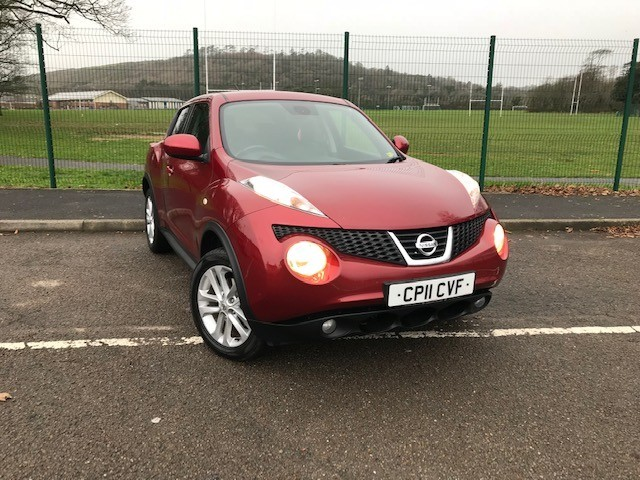 used Nissan Juke TEKNA DIG-T in llanelli-south-wales