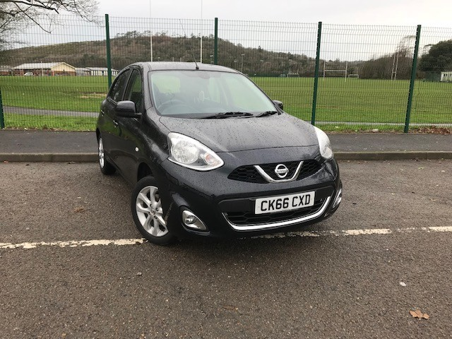 used Nissan Micra ACENTA in llanelli-south-wales