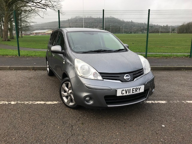 used Nissan Note N-TEC in llanelli-south-wales