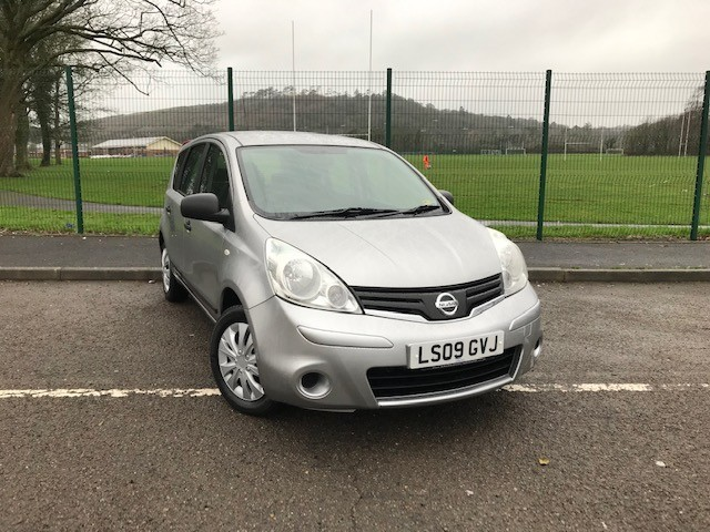 used Nissan Note VISIA in llanelli-south-wales