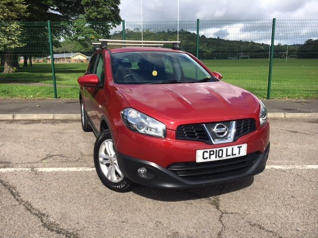 used Nissan Qashqai ACENTA DCI in llanelli-south-wales